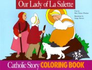 Our Lady of La Salette Colouring Book