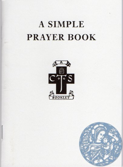 A Simple Prayer Book - Click Image to Close